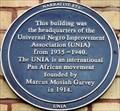 Image for Universal Negro Improvement Association (UNIA) - Beaumont Crescent, London, UK