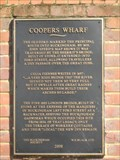 Image for Coopers Wharf plaque - Buckingham - Bucks