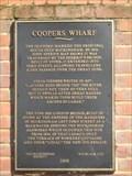 Image for Coopers Wharf plaque - Buckingham - Bucks