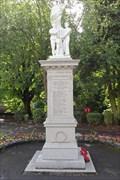 Image for Bible Quotations – World War I Memorial – Matlock Bath, UK