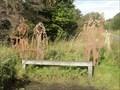 Image for Cycle Route Portrait Bench - Bilton, UK