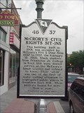 "Image for McCrory's Civil Rights Sit-Ins and ""Friendship Nine"" Historical Marker"