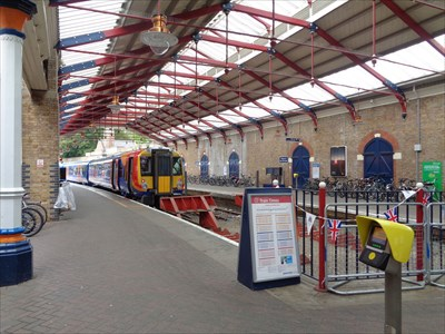 veritas vita visited Windsor & Eton Station