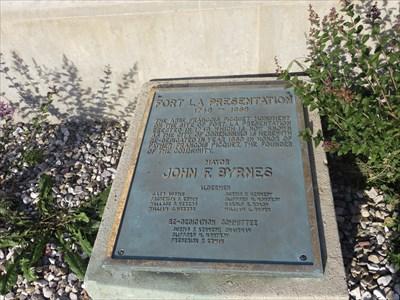 Abb 233 Fran 231 Ois Picquet Monument Ogdensburg New York