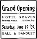 Image for Graves Hotel - Harlowton, Montana