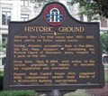 Image for Historic Ground  – GHM 060-2  – Fulton. Co. GA