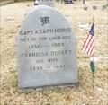 Image for Capt. Asaph Morse - Glen Aubrey Cemetery - Glen Aubrey, NY