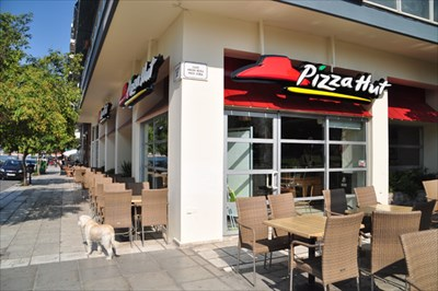 pizza hut white tower salonika greece pizza hut restaurants on. Black Bedroom Furniture Sets. Home Design Ideas