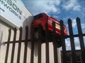 Image for Car through a wall - Jackson Coachworks, Queens Street - Loughborough, Leicestershire