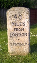 Image for Milestone - High Street, Stotfold, Bedfordshire, UK