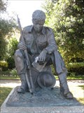 Image for A Soldier of World War Two - Clarence Esplanade, Southsea, Portsmouth, Hampshire, UK