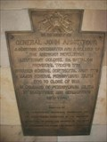 Image for General John Armstrong - Plaque