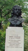 Image for Buste de Samuel de Champlain - Paris, France
