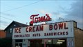 Image for Tom's Ice Cream Sign-Zanesville, OH