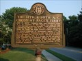 Image for The 14th & 20th A.C. Cross at Pace's Ferry - GHM 033-86 – Cobb Co., GA.