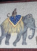 Image for Circus Parade - Mural - Sarasota, Florida, USA.