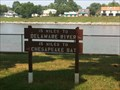 Image for C&D Canal Distance Sign - Chesapeake City, MD