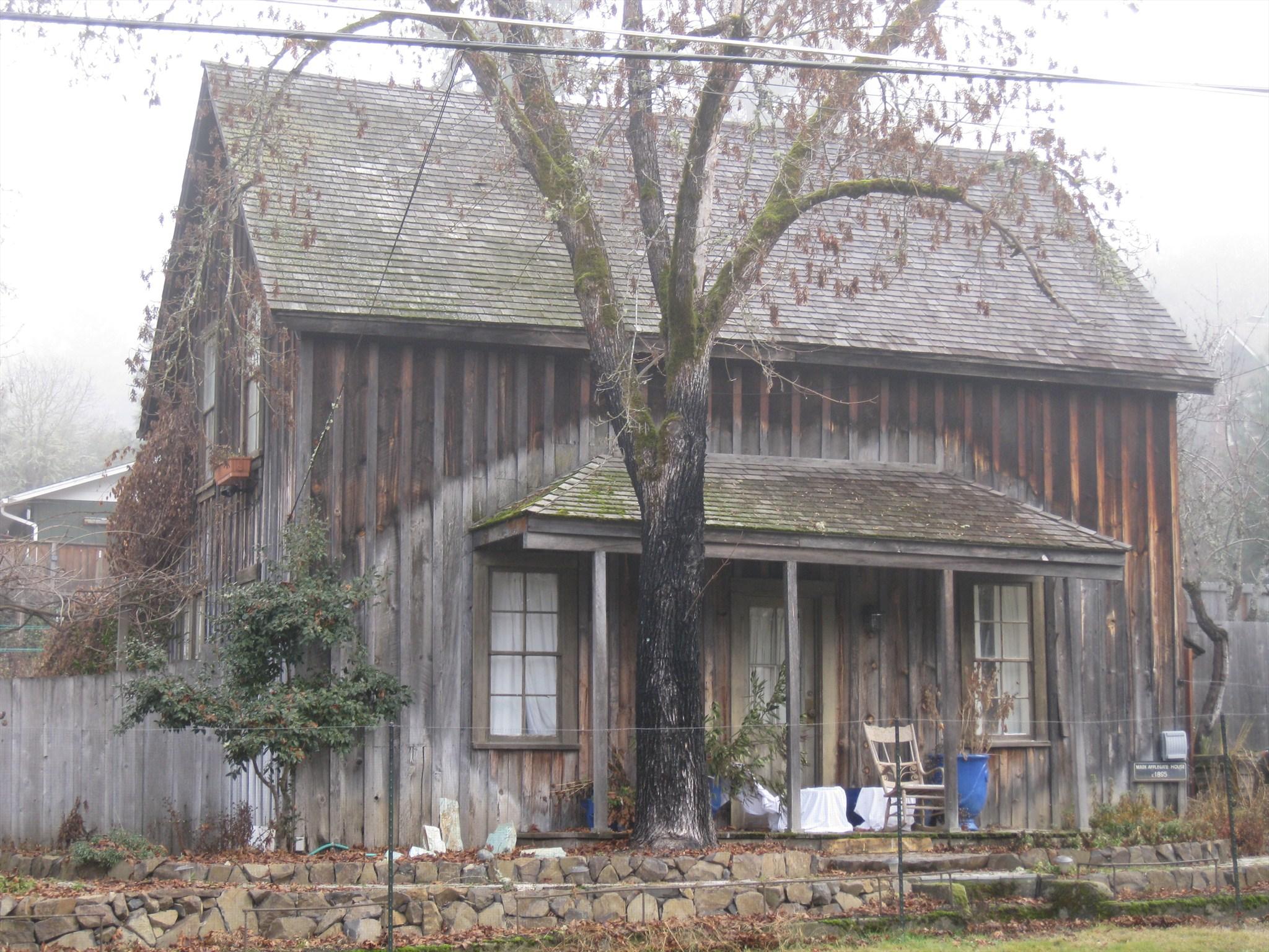 Applegate mark house jacksonville historic district for Applegate house