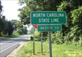 Image for North Carolina Border, U.S. Route 1 South