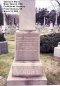 Image for Dabney Herndon Maury Sr. - Fredericksburg VA