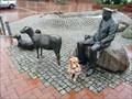 Image for Schäfer mit Hund und Schafen in Wittmund, Niedersachsen
