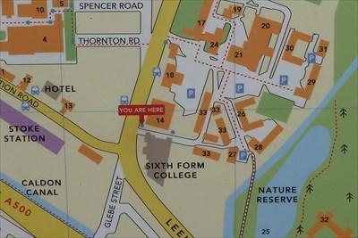 staffordshire university stoke campus map Staffordshire University Science Centre Stoke Stoke On Trent staffordshire university stoke campus map