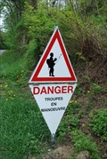 Image for Passage de troupes / Troops crossing - Mutzig, France