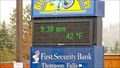 Image for Time-Temp First Security Bank - Thompson Falls, MT