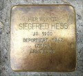 Image for Siegfried Hess - Stuttgart, Germany, BW