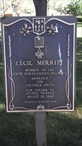 Image for Cecil Merritt V.C.