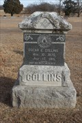 Image for Oscar E. Collins - East Hill Cemetery - Roff, OK