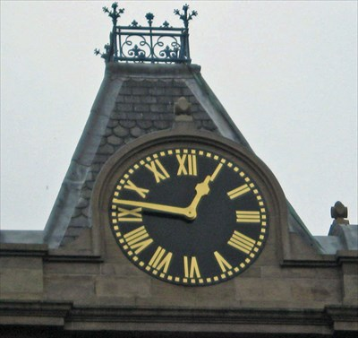 Clock  on the tower
