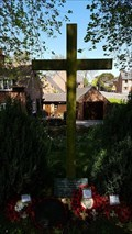 Image for Combined WWI / WWII memorial cross - All Saints - Thurcaston, Leicestershire