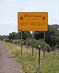 Image for Welcome to New Mexico - New Mexico Arizona Border