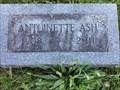 Image for 103 - Antoinette Ash - Three Rivers, Michigan