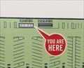 Image for Lime Parking Garage Elevators Map - Lake Buena Vista, FL
