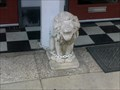 Image for Small Lion Statue - Evansville, IN