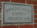 Image for 1947 - Springdale Baptist Church - Kingsport, TN