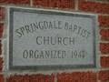 Image for 1947 - Springdale Baptist Church - Kingsport, TN