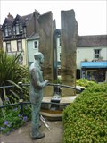 Image for Sir Edward Elgar & the Enigma Fountain, Great Malvern, Worcestershire, England