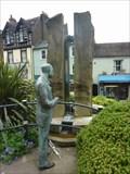 Image for Sir Edward Elgar & the Enigma Fountain, Great Malvern, Worcestershire, England