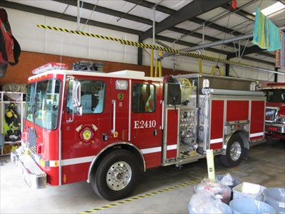 Fire Engine E2410, Felton, CA