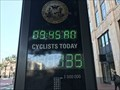 "Image for Counting Display ""Cyclist Today"" - San Francisco, CA, USA"