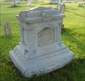 Image for George & Hanna Zerbie - Zinc Headstone - Sulphur Springs, Ohio