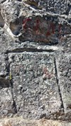 These names were scratched into stone. That must have taken some time compared to the chalk-like structure
