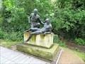 Image for Naked Good Samaritan statue moved to Queen Elizabeth Hospital Birmingham, Edgbaston, Birmingham, U.K.