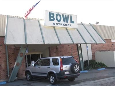 Bowl Entrance, La Habra, California