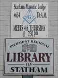 Image for Statham Masonic Lodge #634