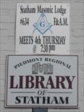 Image for Statham Masonic Lodge #634