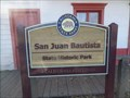 Image for San Juan Bautista State Historic Park  -  San Juan Bautista, CA